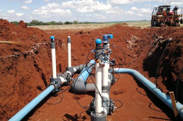 Sistema de Irrigação Isrraelense.
