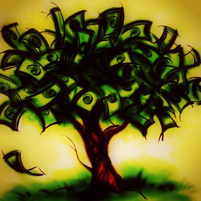 Dinheiro pode dar em árvore! É só plantar direito. Imagem retirada do google.
