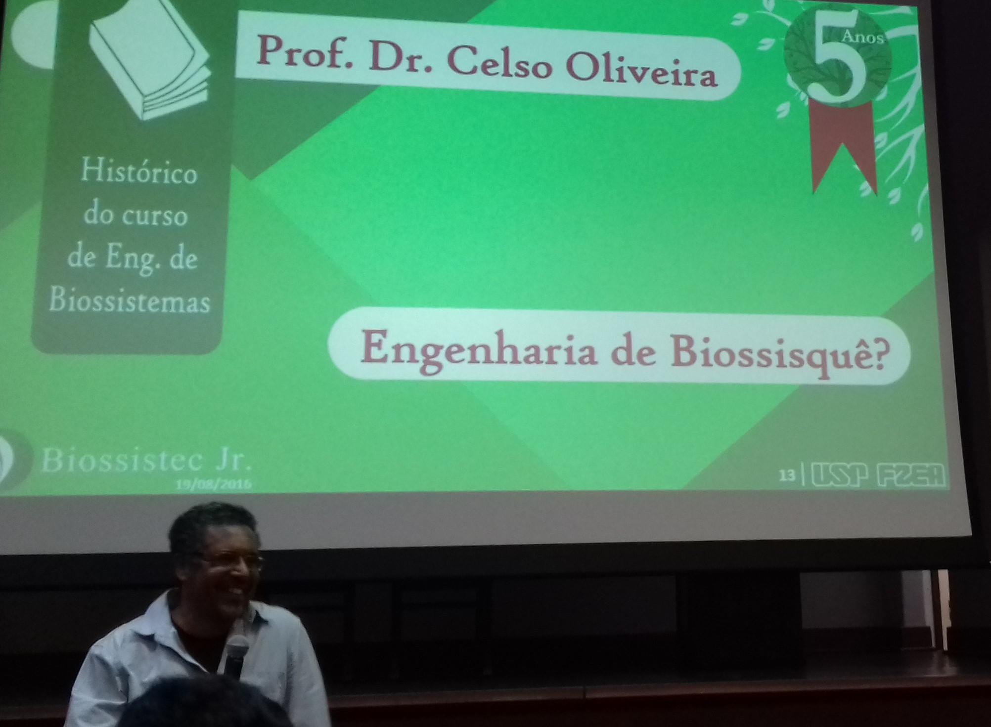 Prof Júnior Oliveira: Biossistec Jr. Completa 5 Anos
