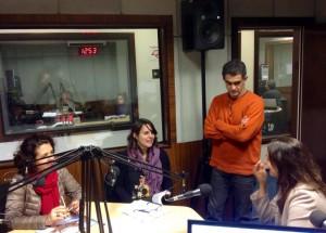 Luciana Royer, Carolina Requena, Eduardo Marques e a jornalista Ana Paula Chinelli conversaram no estúdio da Rádio USP sobre as transformações na metrópole de São Paulo
