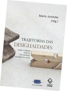 Capa do livro Trajetórias das Desigualdades - Como o Brasil mudou nos últimos 50 anos