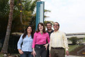 Natássia Vieira, Mayana Zatz, Yuri Moreira, Sergio Verjovski-Almeida são os pesquisadores uspianos que participaram da pesquisa que descobriu o papel do Jagged1