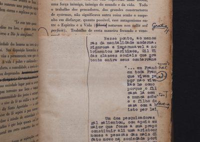 Pesquisadores encontraram exemplar de Raízes do Brasil com notas do próprio Sergio Buarque de Holanda (Divulgação)