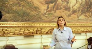 Cecília Helena de Salles Oliveira estudou a fundo a representação do grito do Ipiranga produzida pelo pintor Pedro Américo (Reprodução)