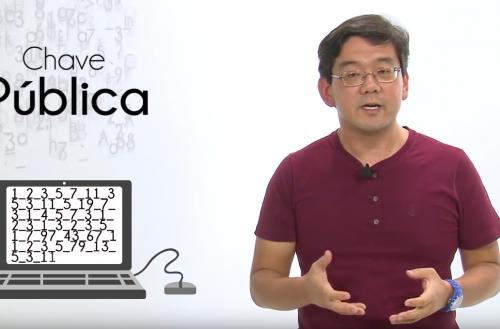 Jackson Itikawa, pesquisador do ICMC-USP, conta como é possível proteger dados sigilosos online (Reprodução)