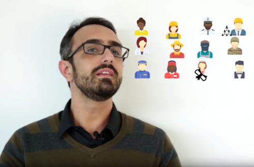 Rogério Barbosa, pesquisador do Centro de Estudos da Metrópole, explica o que são classes sociais (Reprodução)