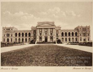 O palácio que abriga o Museu Paulista foi idealizado como um pavilhão destinado a homenagear a independência do Brasil (Arquivo do Estado de SP)