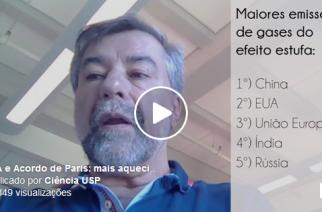 Paulo Artaxo conversou com Ciência USP por Skype, diretamente de Harvard