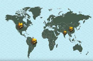 Emissões de CO2: aumento de 40% em 200 anos
